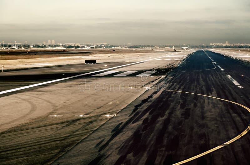 机场跑道 库存照片