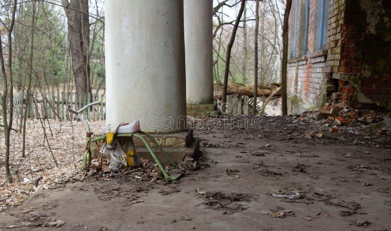 在一次核事故以后的生活 切尔诺贝利 库存图片