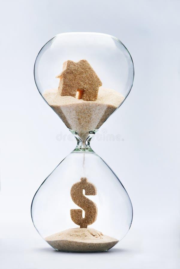 在不动产市场上的价格变异 免版税库存图片