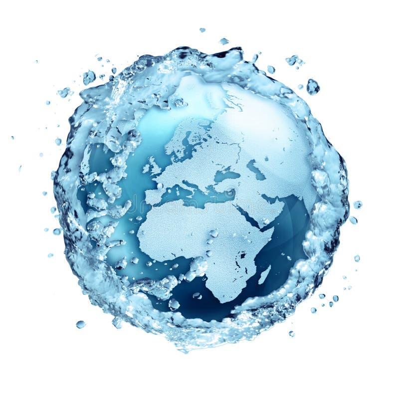 水在世界-欧洲回收 库存照片