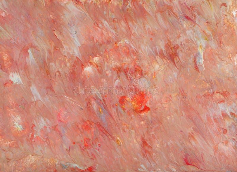 在丙烯酸酯的流程技术的抽象桃红色图片 库存例证