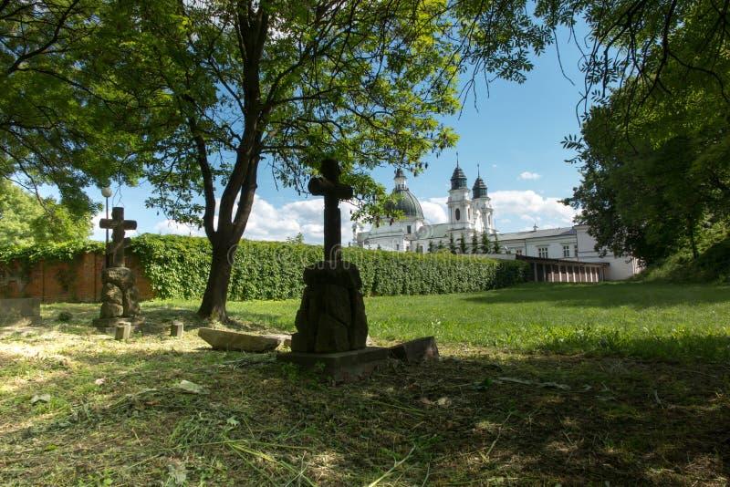 在东Pola的Chelm祀奉,圣母玛丽亚的大教堂 免版税库存照片