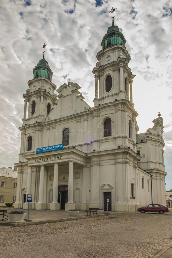在东Pola的Chelm祀奉,圣母玛丽亚的大教堂 免版税库存图片