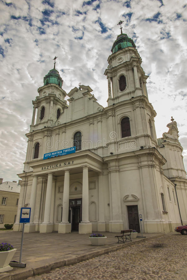 在东Pola的Chelm祀奉,圣母玛丽亚的大教堂 图库摄影