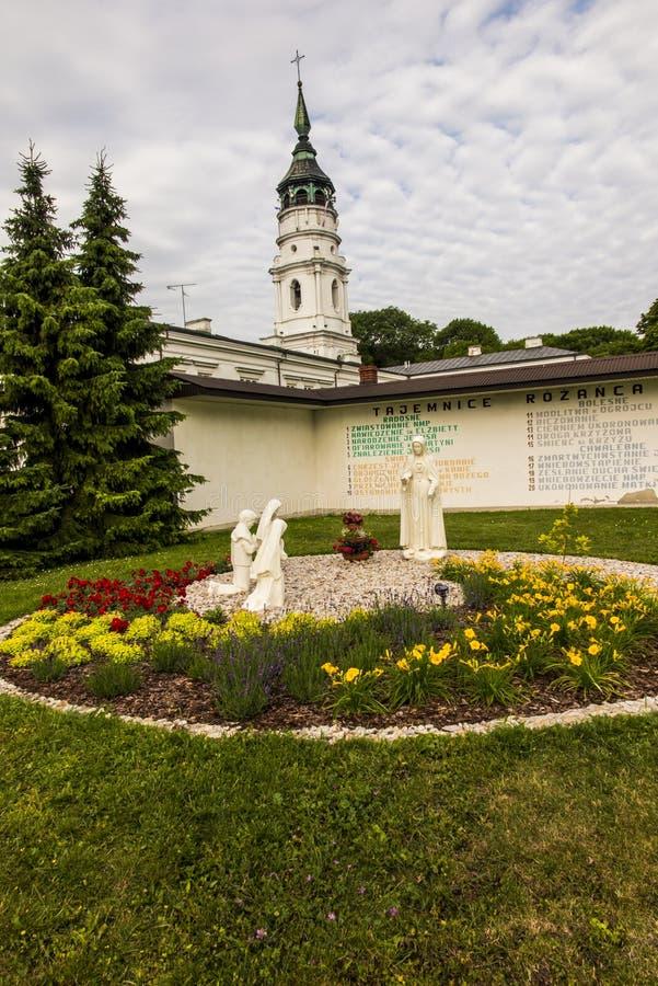 在东Pola的Chelm祀奉,圣母玛丽亚的大教堂 库存图片