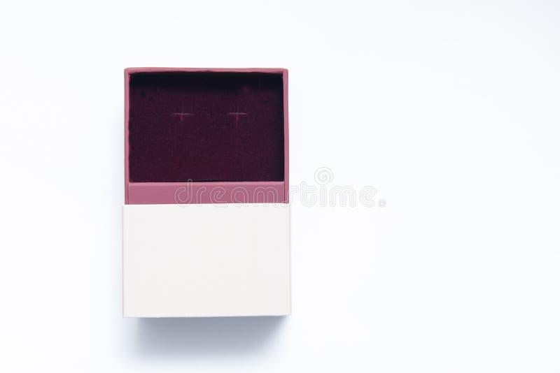 在两种颜色的小当前箱子 免版税库存照片