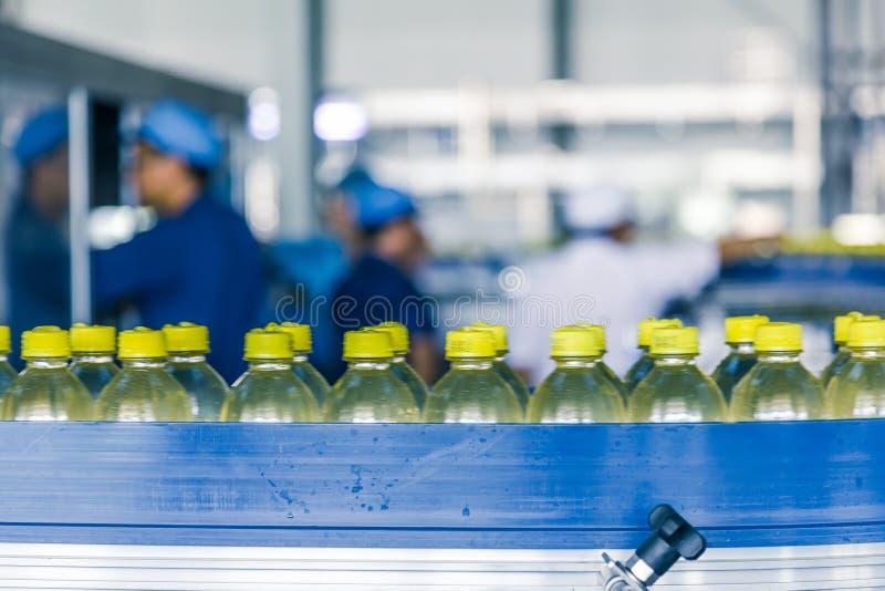 在中国喝生产设备 免版税库存图片