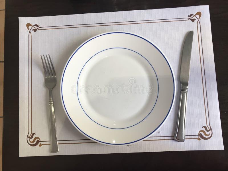 在中国料理店 免版税库存图片