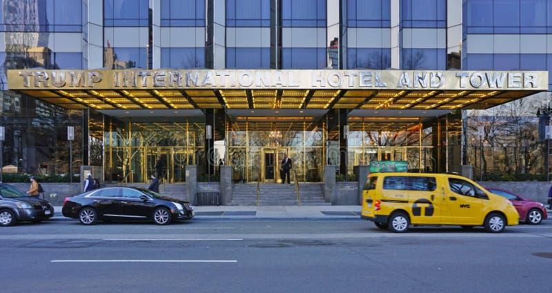 在中央公园的王牌塔西部在纽约 免版税库存图片