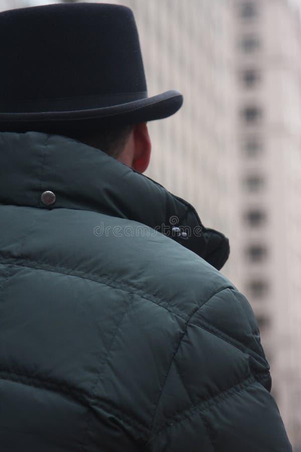 在中央公园NYC的一位汗森出租车司机 免版税库存照片