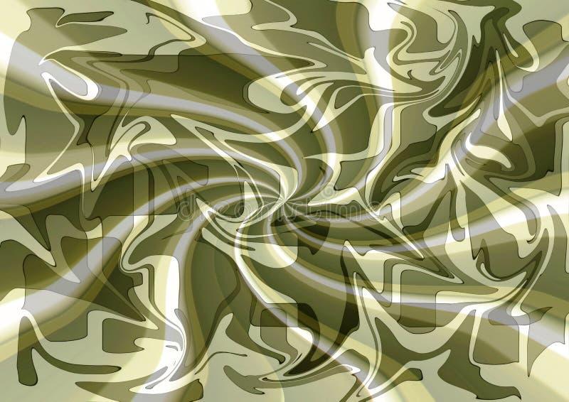 在中立口气的时髦的现代丝织物摘要设计 免版税库存图片