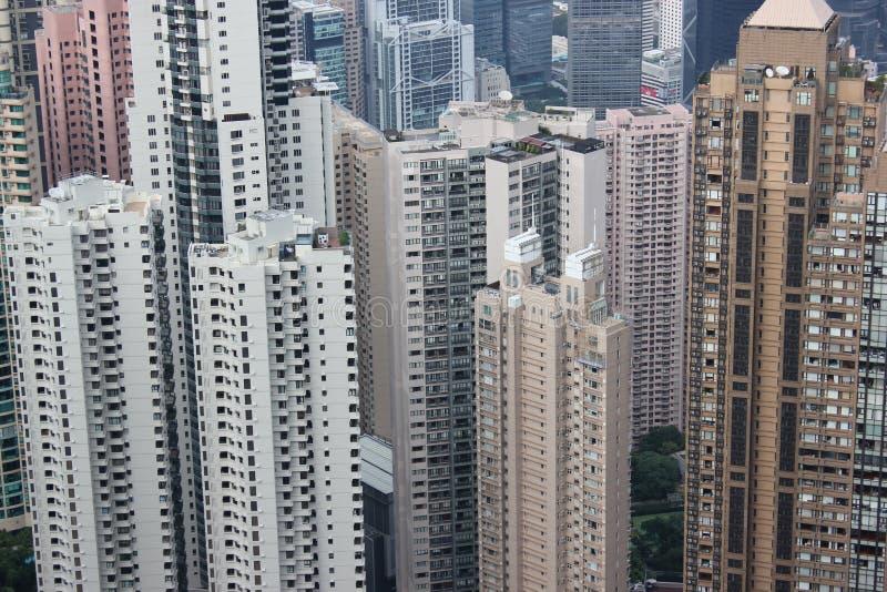 在九龙湾香港的更多公寓 免版税库存照片