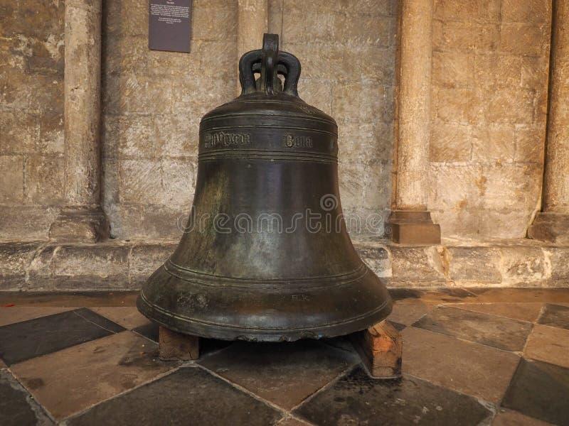在伊利座堂的响铃 免版税图库摄影