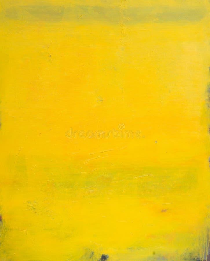 在优越黄色颜色的完善的新的纹理 免版税库存图片