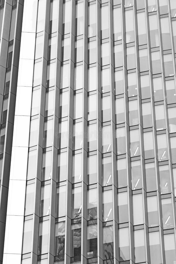 在伦敦摩天大楼财政区和wi的新的大厦 免版税库存照片