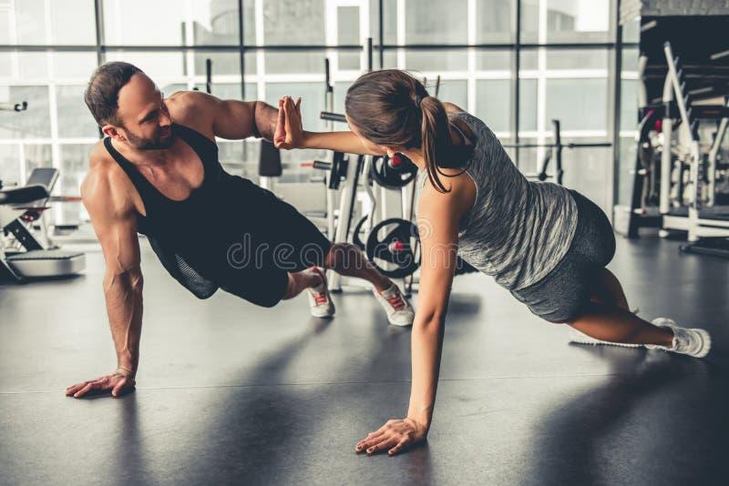 在体操 图库摄影