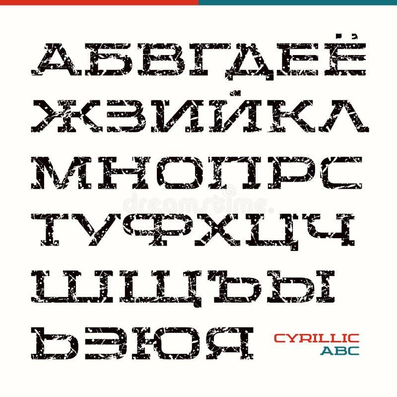 在体育样式的细体字体 皇族释放例证