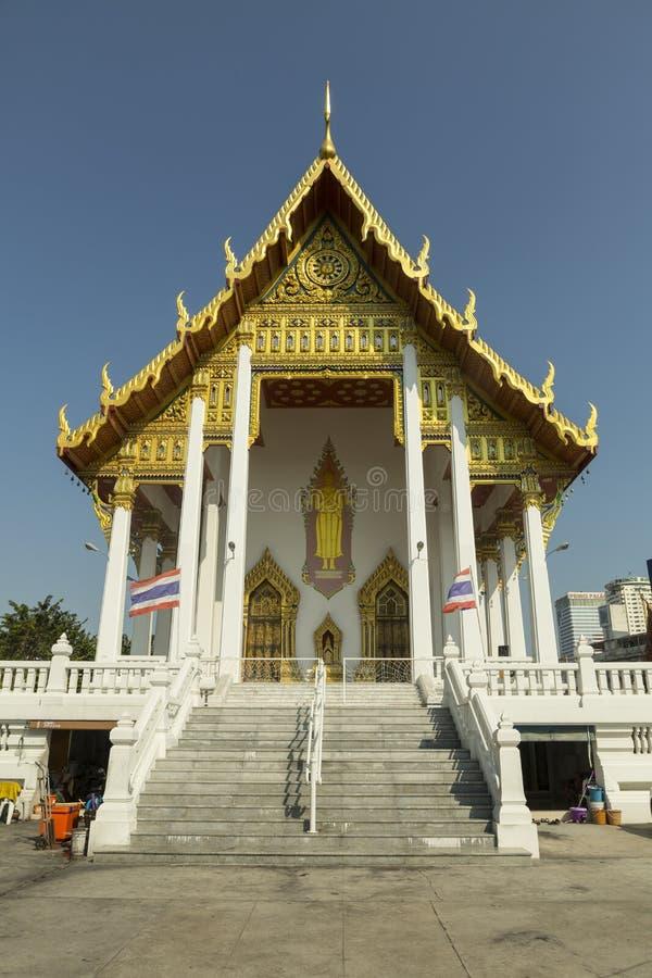在佛教寺庙的入口 库存图片
