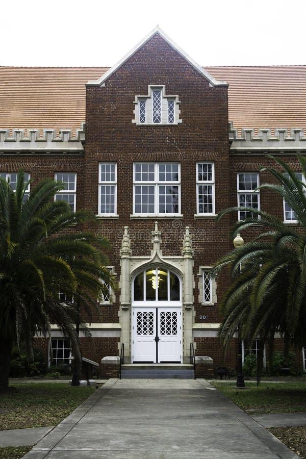在佛罗里达大学的建筑学 库存图片