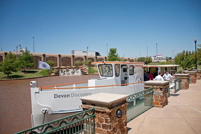 在俄克拉何马河的巡航 库存图片