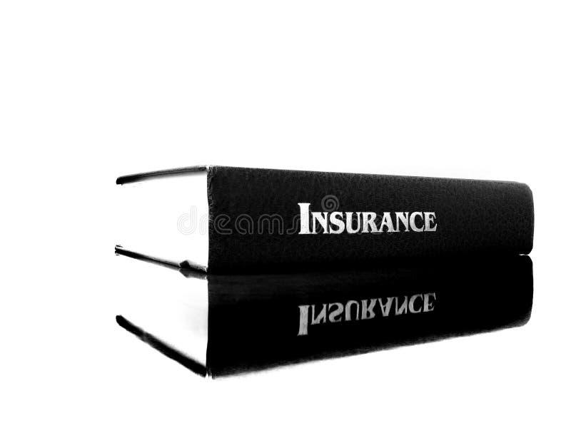 在保险的书医疗保健的 库存照片