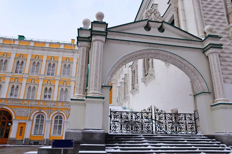 在克里姆林宫里面,俄罗斯 联合国科教文组织世界遗产名录 库存图片