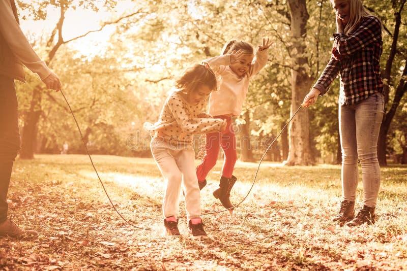 在公园的乐趣 库存照片