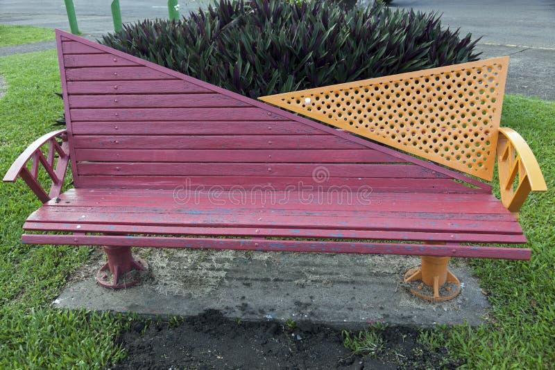 在公园-苏瓦,斐济换下场 免版税库存照片