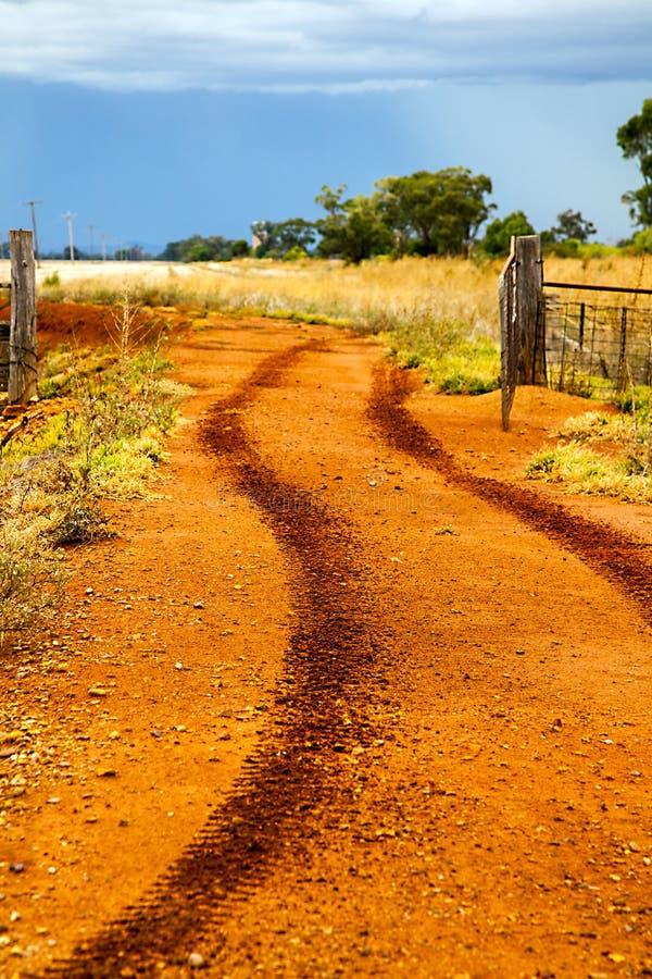 在内地在Dubbo澳大利亚 免版税库存照片