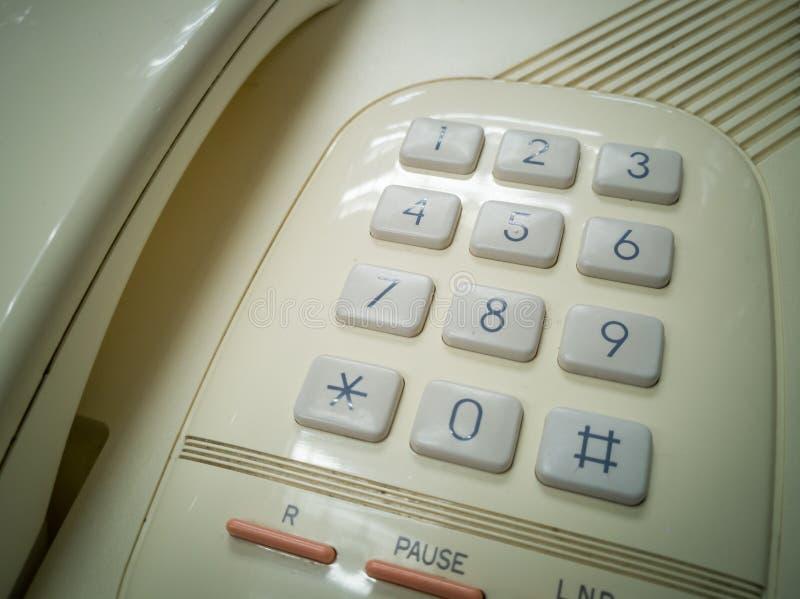 在减速火箭的题材的模式电话 免版税库存照片