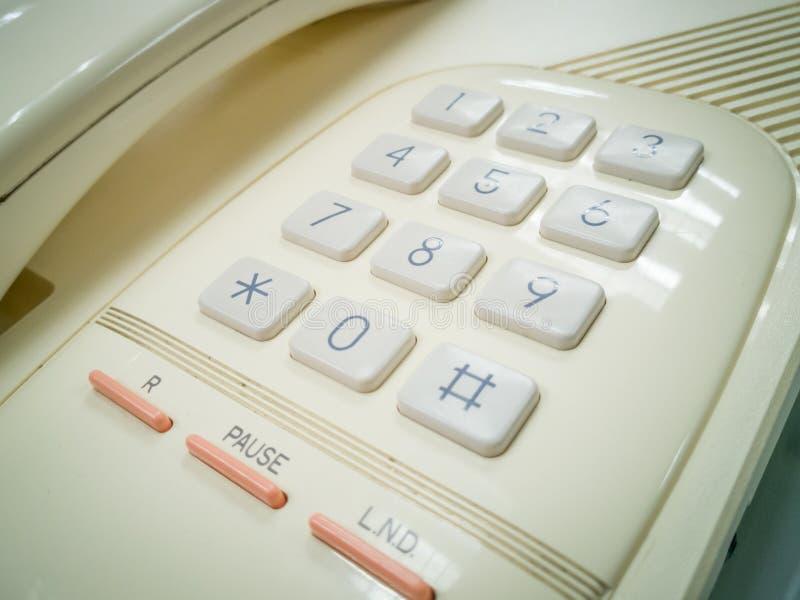 在减速火箭的题材的模式电话 库存图片