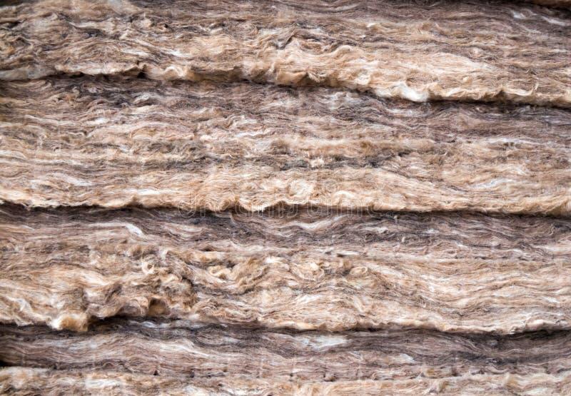 在几层数堆积的矿棉 图库摄影