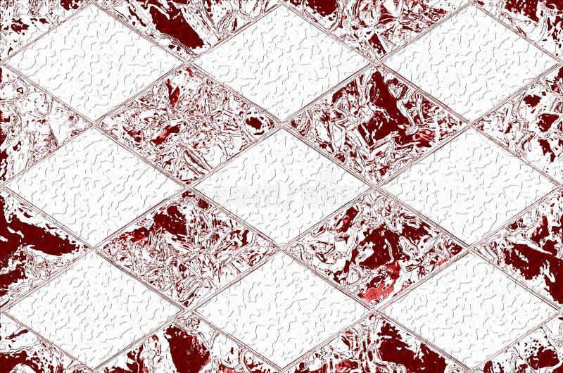 在几金刚石包括抽象构筑的一种图表资源 免版税库存照片