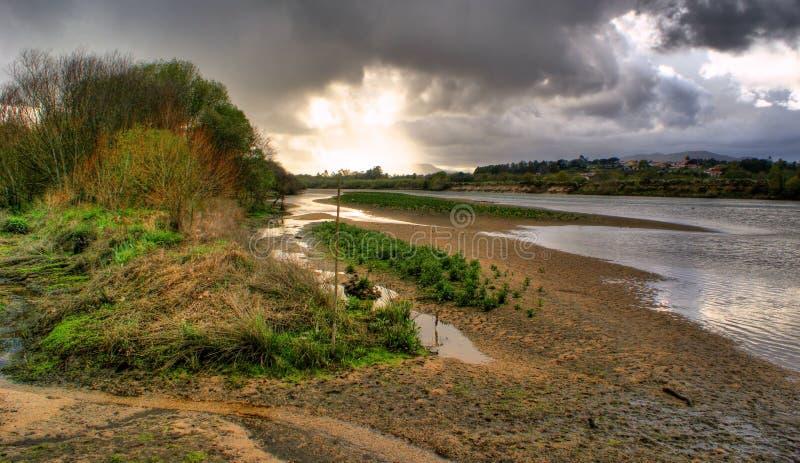 在利马河附近的风景 库存图片