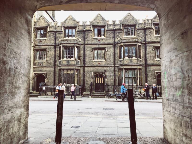 在剑桥关闭 免版税库存图片