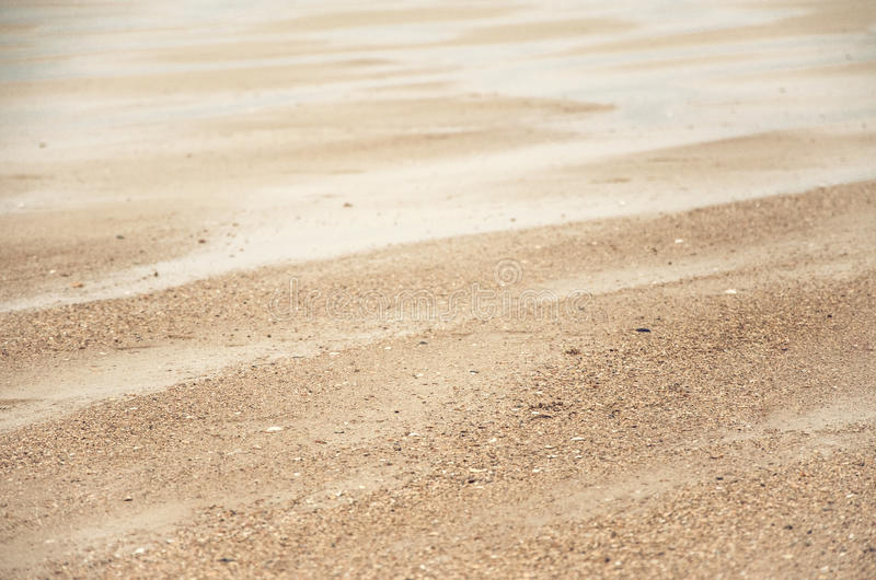 在北海的沙丘 库存照片