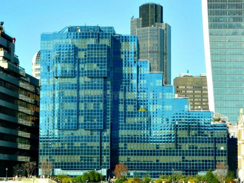 在北部银行的北&壳大厦在伦敦 库存图片