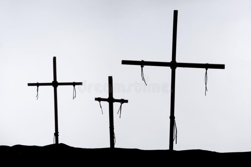 在十字架上钉死 免版税库存图片