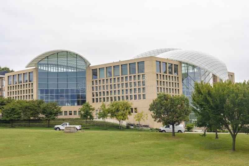在华盛顿特区的美国和平研究所 免版税库存照片