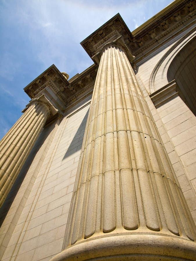在华盛顿特区的联合岗位 免版税库存图片