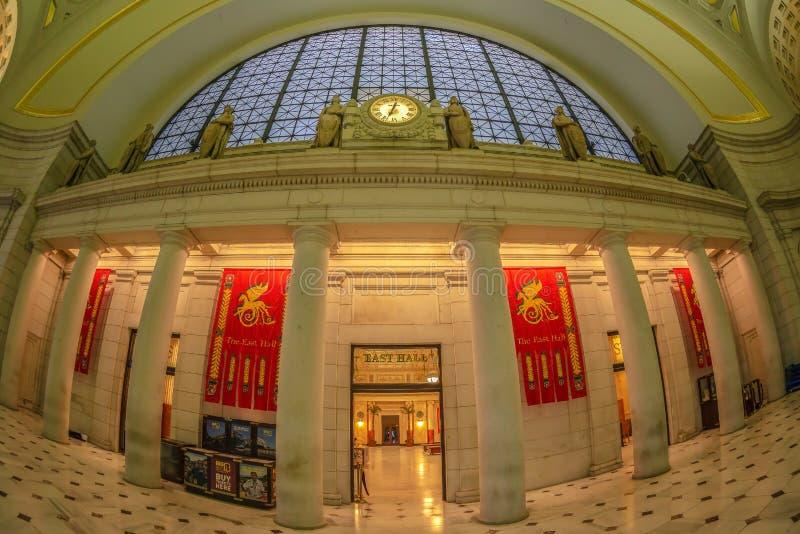 在华盛顿特区的联合驻地,美国 图库摄影