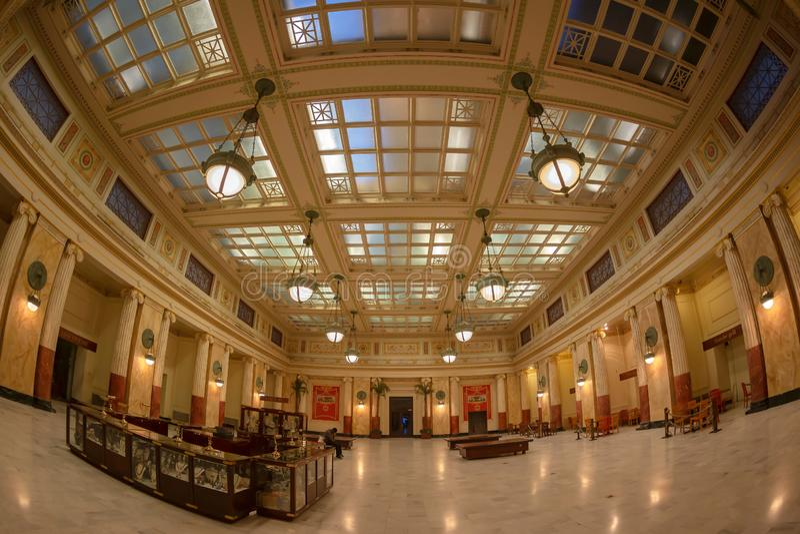 在华盛顿特区的联合驻地,美国 免版税库存图片