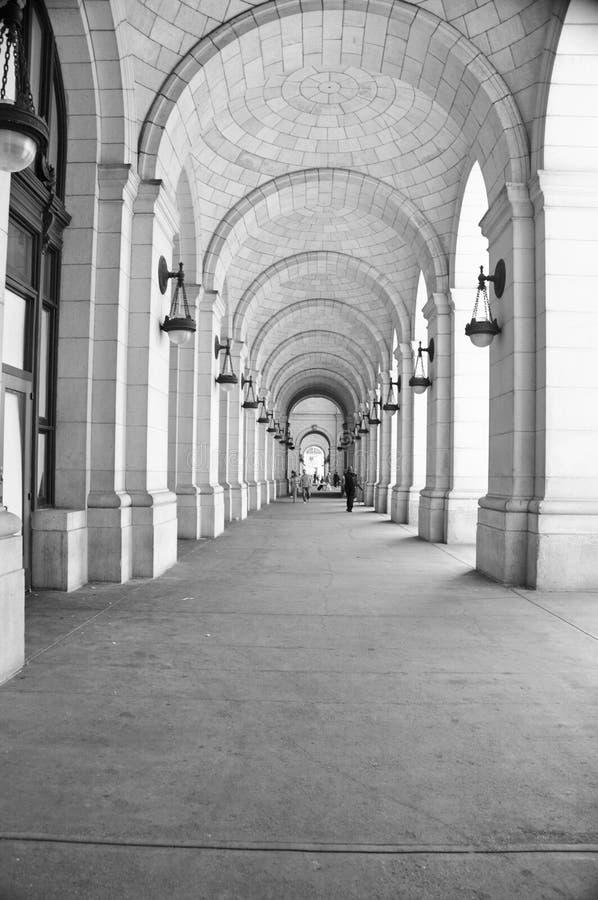 在华盛顿特区的联合驻地 免版税库存图片