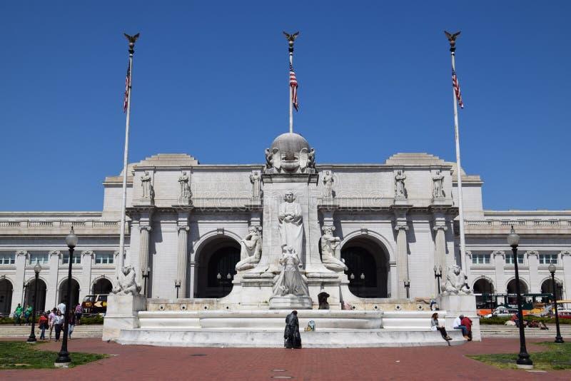 在华盛顿特区的联合驻地 免版税库存照片