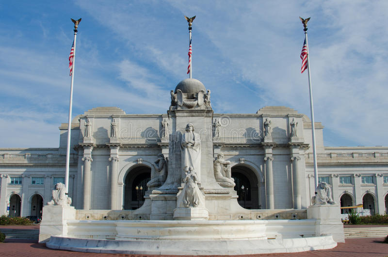 在华盛顿特区美国的联合岗位 免版税图库摄影