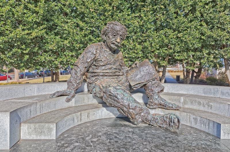 在华盛顿特区美国的阿尔伯特・爱因斯坦纪念品 免版税库存照片