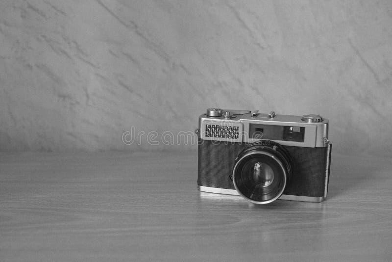 在单色口气的测距仪照相机 免版税库存图片