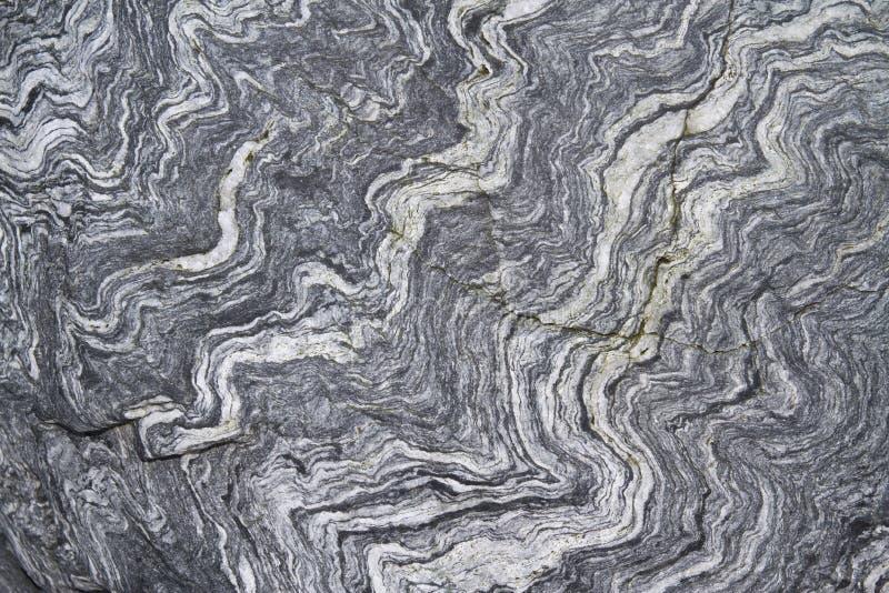 在南极州的色的石表面 免版税库存照片