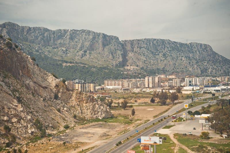 在南部的山安塔利亚8417 图库摄影