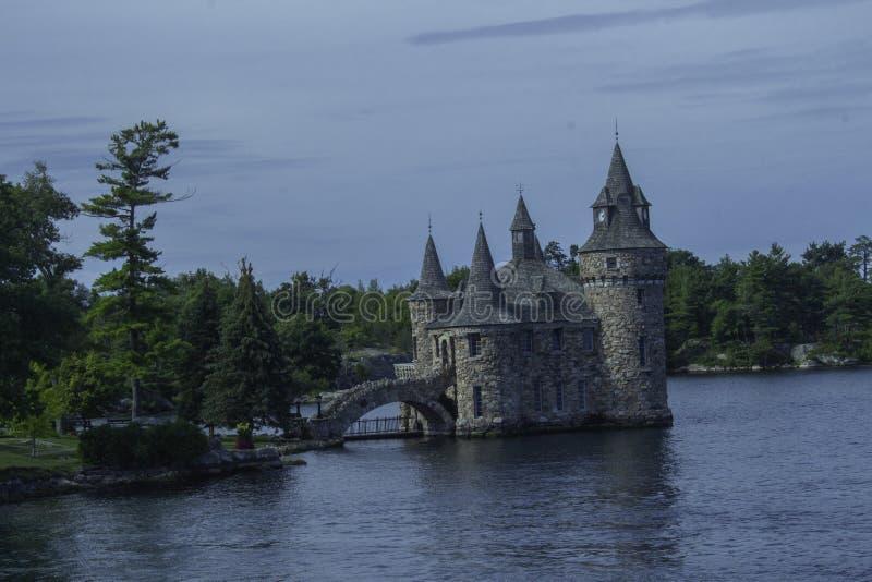 在博尔特城堡 免版税库存照片